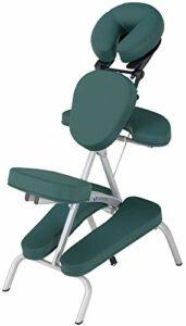 EARTHLITE Vortex Kit portable chaise de massage – Portable, compact, solide et léger (7kg) incl. étui de rangement portable, coussin et sangle pour le sternum