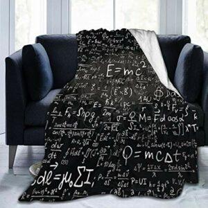 Formula Scientist Couverture en flanelle douce et chaude