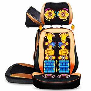 FYHpet Fauteuils de Massage électrique Pad, Shiatsu Massage du Dos Profond Pétrissage Coussin de Massage avec relevable appuie-tête pour la Maison et de Bureau