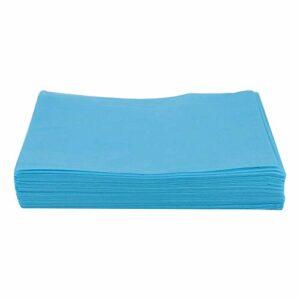 Generic Draps de Lit 10 Pièces Couvertures de Table de Massage Perforées pour Tatouage 80x180cm – Bleu