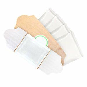 HEALLILY Lot de 5 patchs de moxibustion auto-chauffants aux herbes naturelles pour soulager la douleur, médecine chinoise à l'armuise