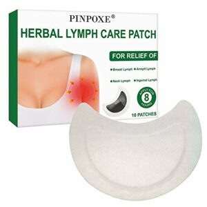 Herbal Lymph Care Patch,Aisselles Lymphatique Detox Patch,Sein Lymphatique Detox Patch,Anti-Gonflement Herbal Lymphe Pads,Supprimer sous Les Aisselles Graisse,Favoriser la circulation sanguine,10Pcs