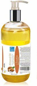 Huile de Massage Pure Végétale d'Amande Douce 500 ml ● Apaisante et Adoucissante sur les peaux irritées et sèches ● Gerçures des Seins et des Mains ●100% Pure et Naturelle