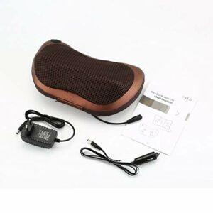 KoelrMsd Oreiller de Massage électrique Taille Cou Dos Coussin de pétrissage Shiatsu Voiture véhicule Oreiller de Massage Multifonctionnel