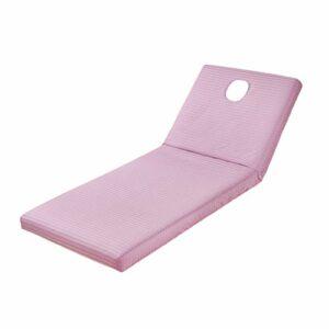 MERIGLARE Couverture Réutilisable de Drap de Lit de Tissu de Massage de Station Thermale avec Le Trou de Visage 190x70cm – Violet
