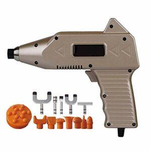 MJ-Sports 1000N Spine Back Activator Instrument 20 Niveaux Impulse Massage Tool Soins de Santé Chiropratique Réglable Outil Correction Pistolet, Or