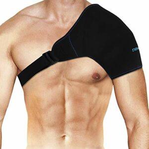 Pack de gel glacé pour l'épaule Réutilisable & Emballage pour épaule Compresse Froide Chaude, Soulagement de pour Blessures aux épaules