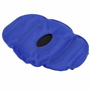 Pack de glace au genou, sac de glace fiable bleu, pour le soulagement de la douleur au genou de compresse chaude compresse froide