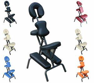 Polironeshop Pan Chaise ergonomique, multifonction pour massages, tatouage, esthéticienne Noir