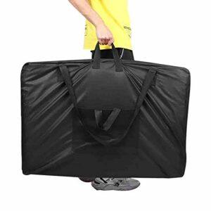Sac de table de massage, sac de transport noir pour lit de massage sûr, accessoire pratique pratique pour un usage domestique à usage professionnel
