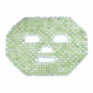 Sharplace Jade Masque Facial, naturel Jade Pierre Anti-Vieillissement Du Visage Masque de Sommeil Des Yeux Beauté Soins de La Peau Outil de Massage pour les