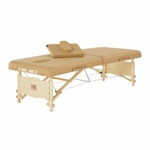 Tables de Massage Lit De Beauté De Ménage Lit Pliant Extérieur Portable Pliable Lit De Traitement De Beauté De Sauna pour Un Rangement Facile (Color : Blue, Size : 184 * 63 * 63CM)