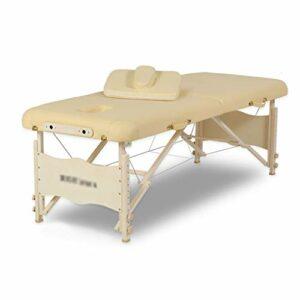 Tables de Massage Lit De Massage Pliant Lit Pliant De Voyage Portable Lit De Beauté Multifonctionnel Domestique Thérapie De Massage Rapide (Color : Blanc, Size : 185 * 70 * 85cm)