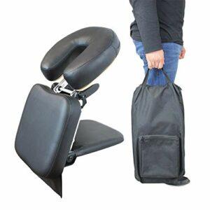 Vivezen ® Appui tête, têtière de massage universelle transportable – Noir – Norme CE