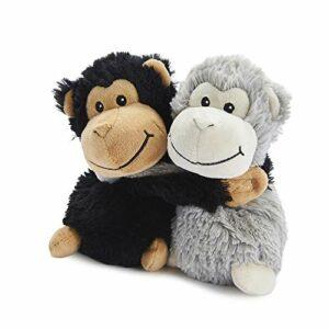 warmies Hugs Singes Peluche Gris et Noir 0,53 kg