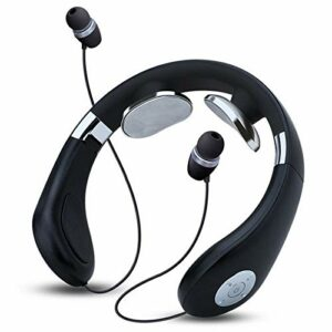 WDFVGEE Casque audio pliable Bluetooth 5.0 pour massage du cou sans fil