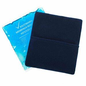 10 pièces 13 cm x 14 cm Compresses froides-chaudes 5 enveloppes premium en non-tissé Compresses multiples réutilisables Refroidisseur Coolpack Micro-ondes adapté