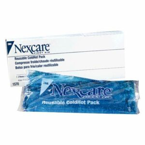 3M 4″ X 10″ Nexcare Reusable Gel Cold or Hot Pack With Cover (2 Per Box)