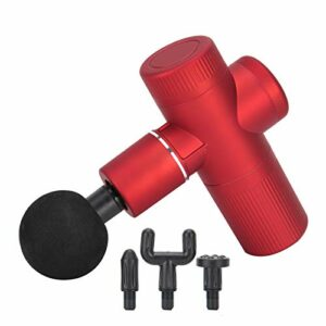 45Db faible bruit 4 têtes de massage professionnelles masseur musculaire électrique masseur musculaire corporel structure rotative à double roulement pour la relaxation de divers muscles