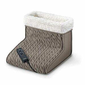 Chauffe-pieds électrique chancelière chauffante avec massage Beurer FWM 45