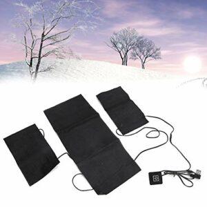 Coussin Chauffant, Coussin Chauffant en Tissu, 3 en 1 Voyage d'hiver Camping d'hiver Utilisation à Domicile pour Les activités de Plein air en Hiver