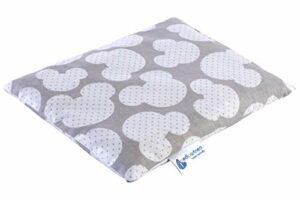 Coussin chauffant en noyaux de cerise 500 g rectangulaire 20 x 25 cm 100% coton certifié Öko-Tex Medi Partners Chaleur + thérapie par le froid Thérapie de massage (Mickey la souris)