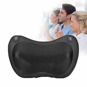 Coussin de massage, malaxage profond Massageurs avec une chaleur de tissu de tissu de la chaleur Massager pour le dos, l'épaule, l'arrêt automatique de la taille et la protection de la surchauffe