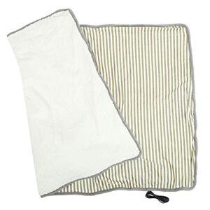 Couverture chauffante électrique chaude pratique de Blanke d'hiver pour protéger l'épaule pour l'épaule chaude pour les soins de santé(Light Brown)