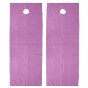 Drap de lit Spa, Couverture de Table de Massage Non irritante, Drap de Table de Massage imperméable, Massage pour Salons de beauté(Purple)