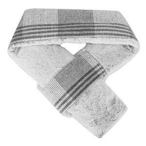 Écharpe chauffante, avec écharpe chauffante USB pratique et rapide avec isolation et étanche pour soulager les crampes et les douleurs musculaires pour le(gray, One size)
