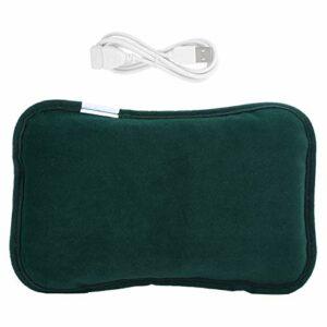 Emoshayoga Chauffe-Mains électrique réutilisable pour Femme et Fille pour soulager la Douleur(Dark Green, Blue)