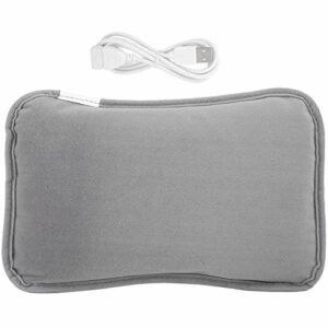 Emoshayoga Chauffe-Mains électrique réutilisable pour Femme et Fille pour soulager la Douleur(Grey, Black)