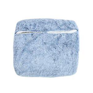 Emoshayoga Enveloppe de Pied légère pour Chauffe-Pied Durable pour Garder Les Pieds au Chaud pour protéger Le Pied(Blue)