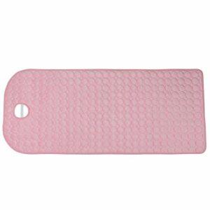 Emoshayoga Table de Massage Feuille Couverture de canapé de Massage Table de Massage de beauté pour Les coiffeurs pour Le Salon(Pink)