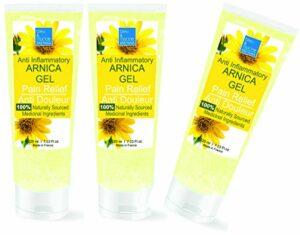 Gel d'Arnica 9% Sport Récupération Gel de Massage (3 x 200 ml)