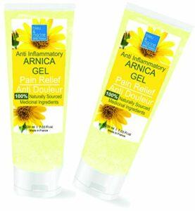 Gel d'Arnica 90% Sport Récupération Gel de Massage (2 x 200 ml)
