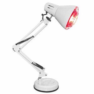 GJNWRQCY Lampe Infrarouge de Bureau, Lampe à rayonnement LED, beauté chauffante, Utilisation sûre, utilisée pour l'anti-âge et Le soulagement des douleurs Musculaires