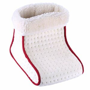 harayaa Chauffe-pieds électriques Réglages de La Chaleur Coussin Chauffant Chauffe-pieds Thermiques
