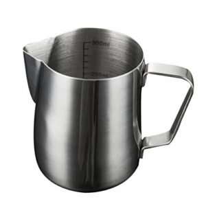 HEALLILY Fabrication de Bougies Verser Pot De Fusion De La Cire Tasse Verser Pot En Acier Inoxydable Fabrication De Bougies Pichet pour La Maison DIY Bougie Magasin 900Ml