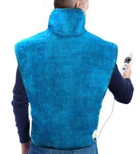 Hosome 60 x 90 cm Coussin chauffant pour le dos et la nuque