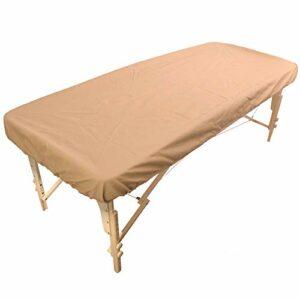 Housse de chaise de massage hydrofuge et hydrofuge en polyuréthane avec élastique pour table de massage – Housse en poudre pour chaise longue