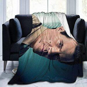Josh Brolin Ultra-Soft Flannel Couverture Élégante Toute La Saison Chaude Chaude Légère Peluche De Peluche De Peluche Légère pour Hommes Femmes
