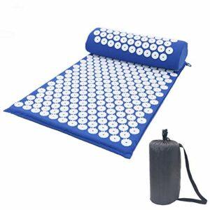 Kit d'acupression, soulage les douleurs dans le dos, le cou et le nerf sciatique, détend les muscles, soulage le stress, détend les muscles, bleu