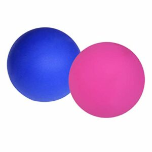 kowaku 2x Massage Lacrosse Ball Myofascial Release Trigger Point Noeuds Musculaires Yoga