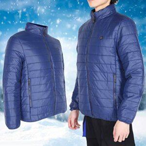 Manteau chauffant Vestes chauffantes électriques à économie d'énergie pour adulte pour antigel pour la santé pour plus de confort(XL, Pisa Leaning Tower Type)