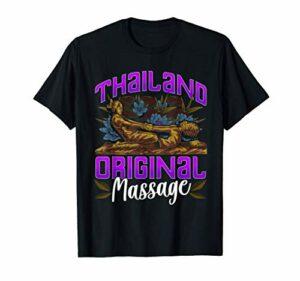 Massage thaïlandais inspiré Massage thaïlandais lié Happy En T-Shirt