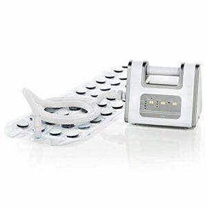 Medisana BBS bain à bulles, tapis balnéo avec distributeur d'arômes, 3 niveaux d'intensité, fonction de minuterie, convient pour chaque baignoire, avec télécommande, 2ème génération