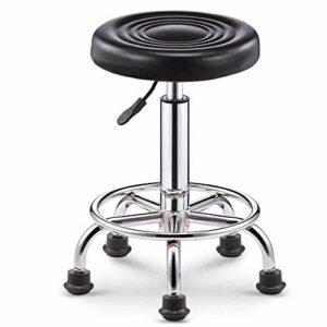 QLIGAH Lit de Massage Table de Massage Portable Pliante 2 Pliante Hauteur Salon réglable lit 73in Long PVC Spa lit avec appuie-tête