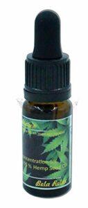 Storepil – Cannabidiol CBD 5% < 0,2% THC pour gestion stress anxiété et douleur, prise par voie orale et massage, flacon de 10 ml pour gestion stress anxiété et douleur