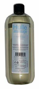 Storepil – Huile de massage Adoucissante – Parfum ambre – 1 litre